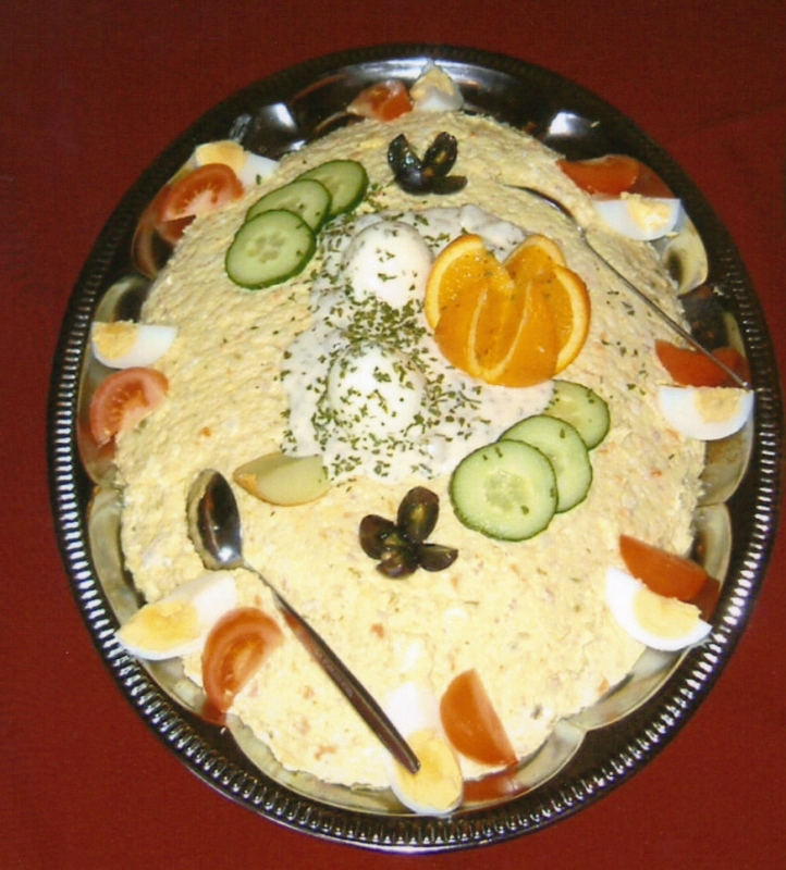 Voorbeelden van salade op naar de top catering for Best catering